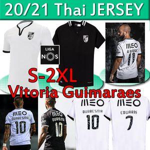 Vitoria Guimaraes Soccer Jerseys 2020 2021 Vitória S.C A.andre Edwaros Quaresma Duarte Bruno Vitória de Guimarães الرجال قميص كرة القدم
