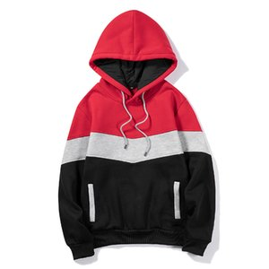 2020 Men Fashion New Winter Hoodies Male Korean Style Pullover Pull O Neck Long Sleeve Keep Warm Hoody Clothes Thicken Clothings Y1118