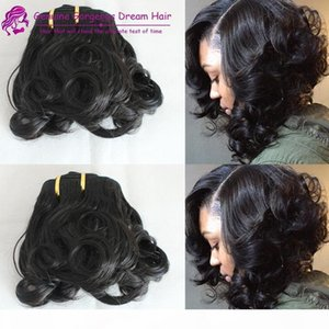 Spring curl double drawn Aunty Funmi hair sprial curl pro hair curl human hair weave hot beauty for Uk customer