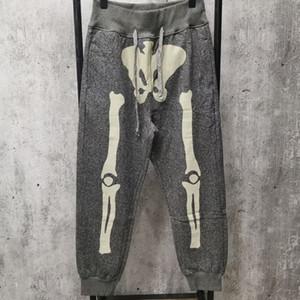 Mens 2021 Inverno Designer cinzento cor de cor jogging calças ~ Tamanho dos EUA ~ tops Mens yoga corredores pista calças de suor