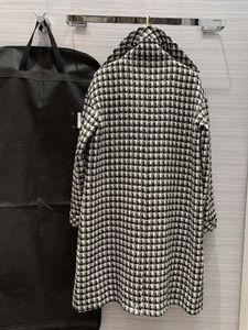 2021 Neck Milan Trench Coats Coats Brand Long Lapel Same Sleeve Women Runway Trench Designer Style 1015-18 Xaknu
