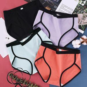 Intimates 2020 Hot Sale High Quality Underwear Cotton Mid Waist Briefs Panties For Ladies Sexy Women's Briefs
