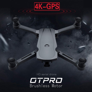 OTPRO New Drone Brushless Motor 5G GPS Drone With 4K Dual Camera Professional Foldable Quadcopter 1200M RC Distance Toy vs k20 201125