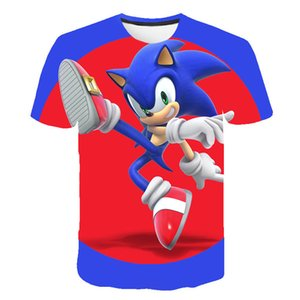 The New 3D baby Children Cartoon t shirt Kids Boys Anime O-Neck Clothes 2020 Summer Fashion Casual Tops 4T-14T Q1126