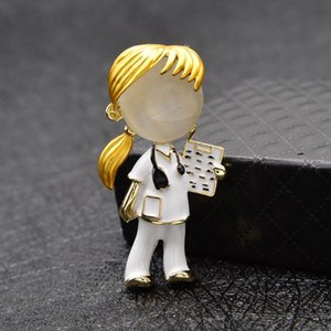 DI-227 Opal Enamel Boys And Girls Brooches Brooch Pin Jewelry Fashion Jewelry 2 Style Available Gift
