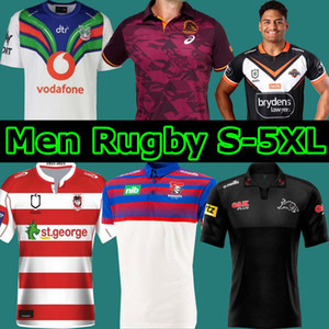 2021 Brisbane Broncos Horse Souvenir Chevaliers Singulet Jaguar Warrior West Tiger Saint George Retro Rugby Porter Jerseys