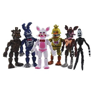Five Nights At Freddys figures Set Model 8cm PVC FNAF Freddy Bear Anime Figure Model Toys Z1120