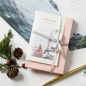 30pcs Christmas In Finland Design Card Multi Use As Scrapbooking Party Invitation Diy Gift Greeting Card Message Postcard jllDJF
