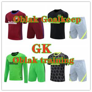 2021 Joao Felix Suarez Oblak Portiere Soccer Jersey M.llorente Koke Saul manica corta manica corta vestito calcio jersey camicia