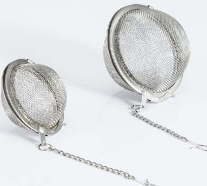 4.5 5.5 7CM 304 Stainless Steel Mesh Tea Balls Tea Infuser Strainers Filters Interval Diffuser For Tea Tool