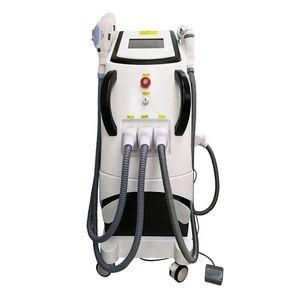 4in1 Opt E-Light IPL RF (Kühlung + Wärme) YAG Laser-Haarentfernung