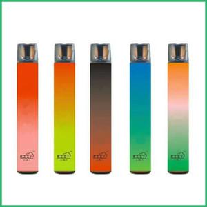 Best quality EZZY 2IN1 Disposable Device Pod Vape Pen 6ml empty Vaporizer 1000+1000 puffs Vape Pen E-Cigarettes Xtra Oval Xtra