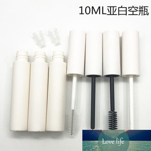 100pcs 10ml Empty Matte White Lip gloss Containers Cosmetic Frosted White Eyeliner Tube Makeup Mascara Bottle Lipgloss Tubes