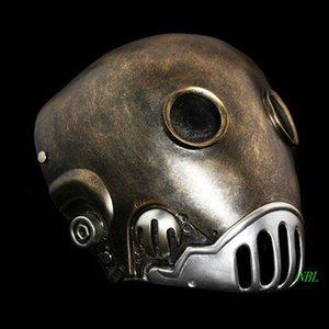 Ужасный шлем смола мужчина взрослый Хэллоуин Геоа маска маски маска маскарада полного размера SH190922 Cosplay Hellboy Kroenen Face Clockwork M EVVW
