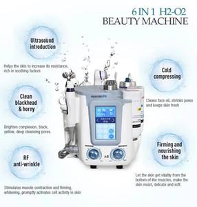 6in1 Remover Blackhead Removal Facial Pore Cleaner Acne Remover clogged pores hydra skin care machine beauty salon equipment