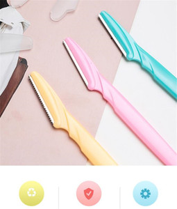 Professional eyebrow Trimmer Safe Blade Shaping Knife Eyebrow Blades Face Hair Removal Scraper Shaver Makeup Beauty Tools