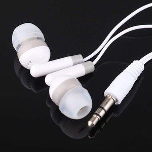 Universal Billigste 100 teile / los Einweg Schwarz Bunte In-Ear-Ohrhörer Kopfhörer Kopfhörer MP3 MP4 3.5mm Audio DHL frei