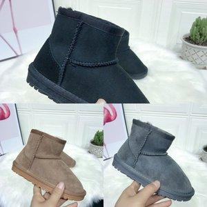 TPWF Babaya Boys Zapatos acolchados de algodón para terciopelo más espesando botas para niños zapatos calientes chicas invierno invierno niños 201113