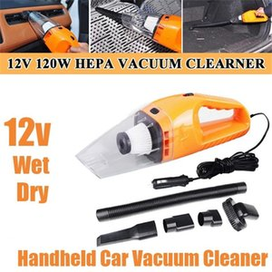 120W Handheld Car Vacuum Cleaner Mini Powerful Auto Vacuum Cleaner 12v Wet and Dry Cyclone Suction for Home & Car & Office