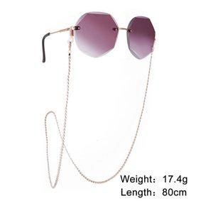 2020 Luxus Kupferperlen Maske Halsband Maske Kettenhalter Sonnenbrille Kette Zubehör 2020 Luxus H Jllpmg