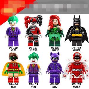 XMY The PG8032 Mini Building Blocks Super Hero Series Harley Noggin Poison Poison Puzzle et Batman Puzzle Jouet Minifig pour enfants Toy cadeau