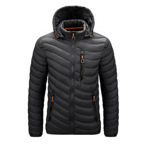 CHAIFENKO Brand Winter Warm Waterproof Jacket Men New Autumn Thick Hooded Parkas Mens Fashion Casual Slim Jacket Coat Men 201119