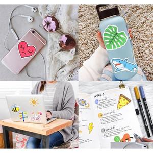 50 PCS Impermeable Vinyl VSCO Girls Pegatinas Paquete Paquete para Botella de Agua Portátil Estuche de teléfono Scrapbooking Bike Car Sqcuyh ABC2007