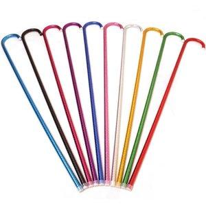 Nuovi bastoncini da ballo da pancia colorati 95 cm Jazz Dance Bastons Belly Dance Accessori Dance Stage Performances Puntelli Misto Colore 10pcs / Pack1