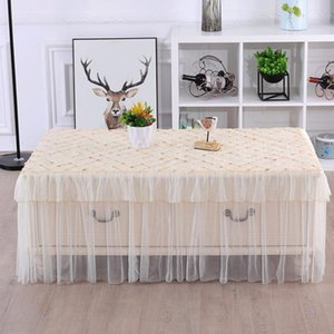 Hot Lace Floral Tablecloth Vintage Large Table Runner Cloth Cover for Wedding Party Decor