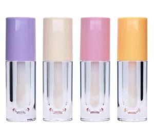 100pcs 6.5ml Empty Clear Lip Gloss Tubes Lip Glaze Big Foot Wand Makeup DIY Cosmetic Lipstick Lip Balm Holder SN4911