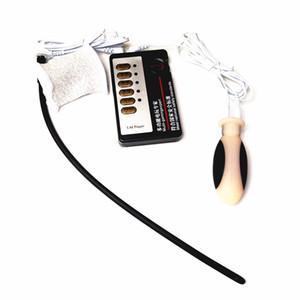 Toys Shock Tope Penis Bondage Ring Estimulación para la masturbación Kit de tortura URETRAL UPUT SEXO PARA ADULTOS LOSTROPL MEN XY8000365 SFFIU