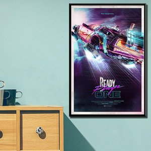 Hot Movie Back To The Future Spielberg Classic Canvas Painting Posters And Prints Wall Art Pictures Home Decor