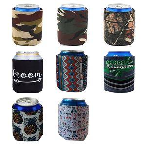 Creativo Immersioni Solid Color Color Set Set Coke Tazza Professionale Birra di raffreddamento PU Coprire le bevande Bottiglia Bottiglia Stringatore di raffreddamento Portacellulare colorato HHD4648