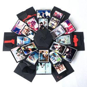 Valentine's Day Present DIY Photo Surprise Love Explosion Box Gift for Anniversary Scrapbook Birthday for Girls
