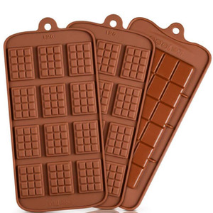 Cavity Break-Apart Chocolate Mold Tray Non-Stick Silicone Protein and Energy Bar Candy Molds Food Grade DHD2484