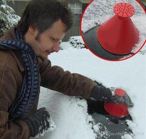 مكشطة الجليد قمع الجليد مكشطة الجليد أدوات الثلج في فصل الشتاء أداة سيارة الثلج الزجاج الأمامي قمع الثلوج مجرفة حجم كبير المزيل