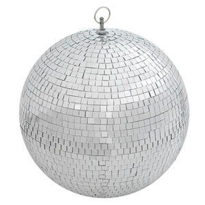 """New Large 12"""" Mirror Glass Disco Ball DJ Dance Home Party Bands Club Stage Lighting Very Good"""