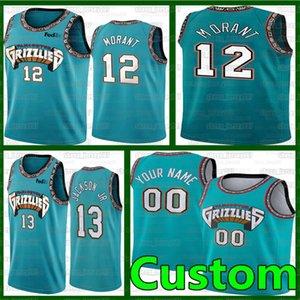 مخصص Jonas 17 Valanciunas Memphisغريزليسكرة السلة Zach 50 Randolph Vince 15 كارتر NCAA JA 12 فانيل كرة السلة