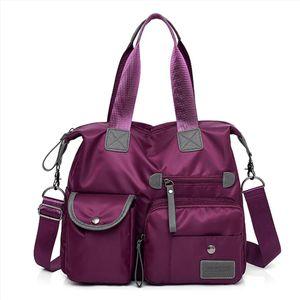 Women Nylon Multifunction Handbag Waterproof Mummy Messenger Travel Multi Pockets Large Capacity Shoulder bags Drop Shipping