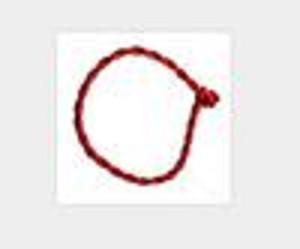 Chinesische Elemente Natal nicht Armband, Glücksrote String Armband Rote String Armband 500 stücke GWE3302