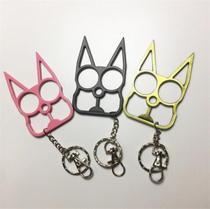 Fashion Women Men Keychain Cute Cat Original Tool Key Chain Key Chain Bottle Opener Screwdriver Outdoor Self-Defense