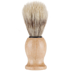 النايلون الصلبة اللحية فرشاة الخشب الشعر شعيرات الحلاقة أداة الرجال الذكور فرش الحلاقة غرفة الاستحمام الملحقات السفر هدية 5WM N2