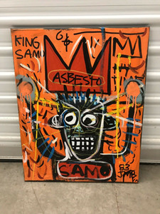 Jean Michel Basquiat Canvas Painting Home Decoration Handcrafts  HD Print Oil Painting On Canvas Wall Art Canvas Pictures 201116