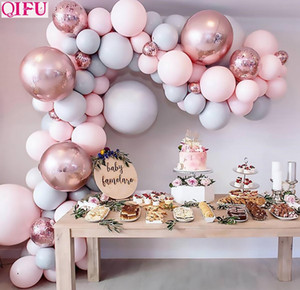 Kit catena in mongolfiera Oh Baby Shower Boy o Girl Balloon Arch Kit Balloon Garland It Il mio primo compleanno BA Jlltjn Bdetrade