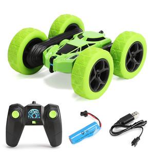 Jty Toys RC Stunt سيارة عالية السرعة تراجع الزاحف مركبة 360 درجة تقلب مزدوجة الوجهين القيادة راديو السيارات التحكم سيارات لعبة rc سيارة 20120