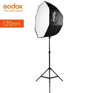 Godox 120cm 47.2 인산형 Portable Portable Portable 스튜디오 스트로브 Speedlight Flash Softbox를위한 Brolly 반사경