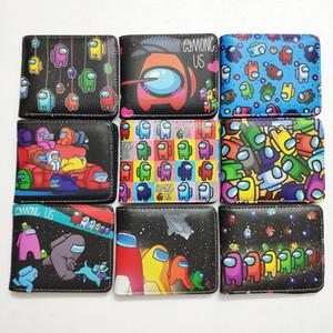 42 styles parmi le portefeuille US Portefeuille Hot Game Dessin animé PU Cuir Casual Portefeuille Court Porte-monnaie Mode Goy Girl Card Paquet D120802
