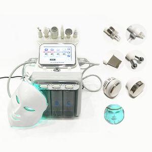 7 в 1 Гидрофабрикальная машина DermaBrasion РЧ холодные молотки воды Hydro DermaBrasion Hydra для чистки кожи для лица Microdermabrasion