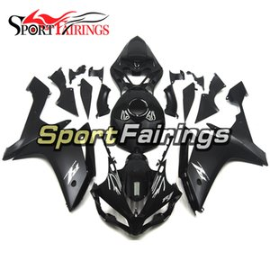 Fairings For YAMAHA R1 YZF 1000 07 08 YZF-1000 2007 2008 YZFR1 Complete Sportbike ABS Plascit Injection Bodywork Kit Black Silver Decals