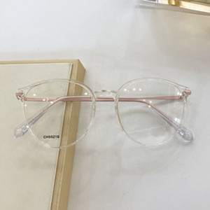 CH5521S High quality new fashion eyeglass frame short-sighted eye frame retro large frame can measure prescription lens size 52-17-135cm